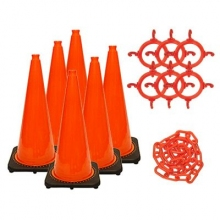 "28"" Traffic Cone Chain Kit"