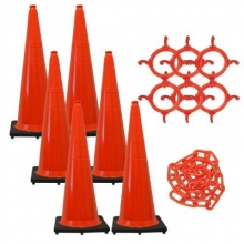 "36"" Traffic Cone Chain Kit"