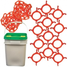 Traffic Cone Chain Connector Kit in Pail