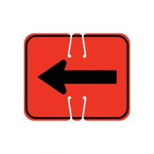 Buy Traffic Cone Sign-REVERSIBLE ARROW on sale online