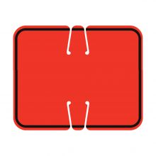 Traffic Cone Sign - REVERSIBLE BLANK