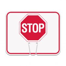 Traffic Cone Sign - STOP
