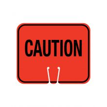 Buy Traffic Cone Sign - CAUTION on sale online