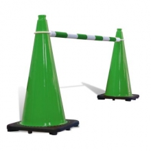 Telescoping Cone Bar Green & White