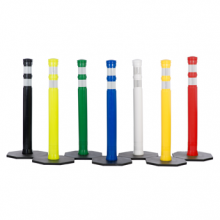 """Buy JBC 42"""" Dome Top Colored Delineators on sale online"""
