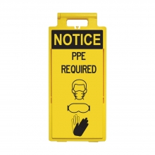 Lamba Floor Stand - Notice PPE Required