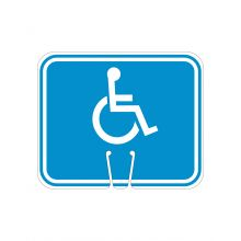 Buy Traffic Cone Sign- HANDICAP Symbol on sale online