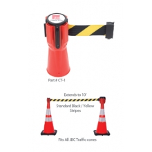 Cobra Tape for Traffic Cones