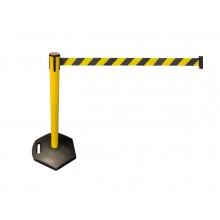 LineDividers Outdoor Retractable Belt Barrier