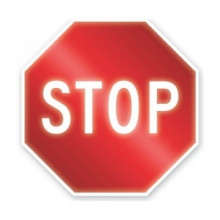 Engineer Grade Prismatic RA Stop Sign