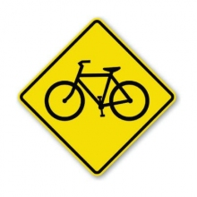 Official MUTCD Bicycle Crossing Sign