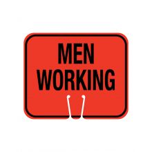 Buy Traffic Cone Sign MEN WORKING on sale online
