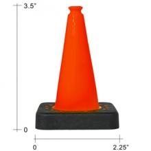 "Buy 3.5"" Mini Cones on sale online"