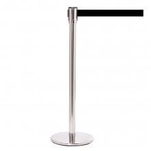 QueuePro 200 Stainless Metal Retractable Belt Post