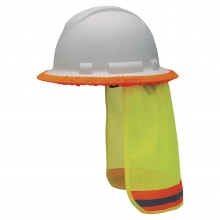 Hard Hat Neck Shade - Lime