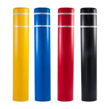 """Buy 10 7/8 Inch 60"""" Post Guard Top Bollard Cover w/ Stripes on sale online"""