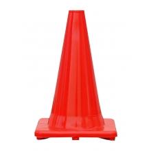 """Premium 12"""" All Orange Traffic Cone"""