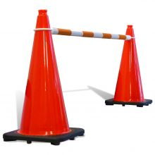 Buy Telescoping Cone Bar Orange & White  on sale online
