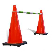 Buy Telescoping Cone Bar Green & White on sale online