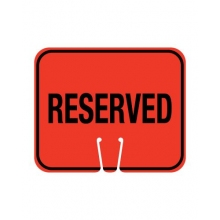 Traffic Cone Sign- RESERVED