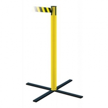 Tensabarrier Stowaway Retractable Belt Barrier Post