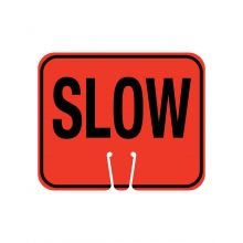Buy Traffic Cone Sign- SLOW on sale online