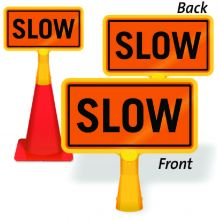 ConeBoss Sign: Slow