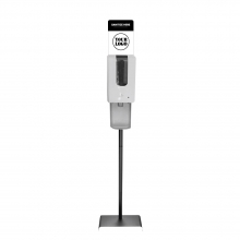 Touch Free Automatic Hand Sanitizer Stand with Custom Sign Option