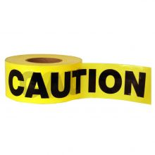"Buy Yellow Caution Tape 1.5 mil 3"" x 1000' TAA Compliant on sale online"