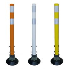 "Buy 30"" Flexible Surface Mount Tubular Traffic Delineator w/3M Reflectives on sale online"