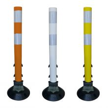 "Buy 24"" Flexible Surface Mount Tubular Traffic Delineator w/3M Reflectives on sale online"