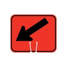 Buy Traffic Cone Sign - DOWN LEFT ARROW on sale online
