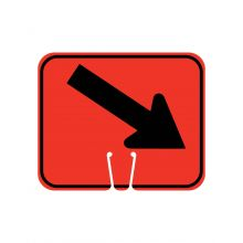 Buy Traffic Cone Sign - DOWN RIGHT ARROW on sale online