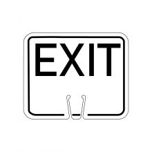 Buy Traffic Cone Sign - EXIT on sale online