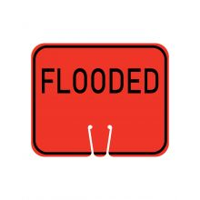 Buy Traffic Cone Sign - FLOODED on sale online