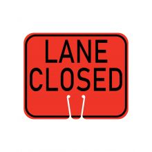 Buy Traffic Cone Sign - LANE CLOSED on sale online
