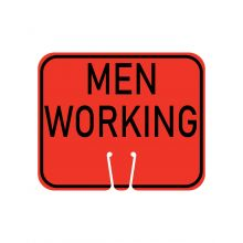 Buy Traffic Cone Sign - MEN WORKING on sale online