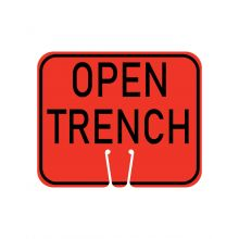 Buy Traffic Cone Sign - OPEN TRENCH on sale online