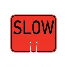 Buy Traffic Cone Sign - SLOW on sale online