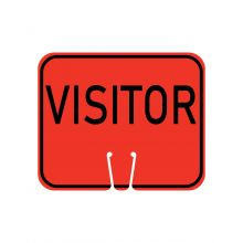 Buy Traffic Cone Sign - VISITOR on sale online