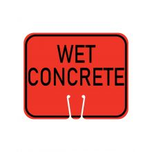 Buy Traffic Cone Sign - WET CONCRETE on sale online