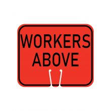 Buy Traffic Cone Sign - WORKERS ABOVE on sale online
