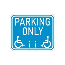 Buy Traffic Cone Sign - HANDICAP PARKING ONLY on sale online