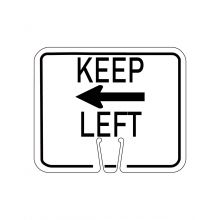 Buy Traffic Cone Sign - KEEP LEFT on sale online