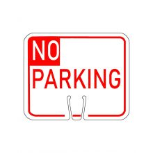 Buy Traffic Cone Sign - NO PARKING (Red) on sale online
