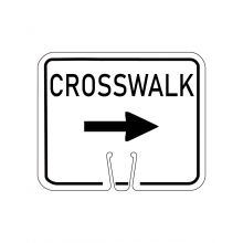 Buy Traffic Cone Sign - RIGHT CROSSWALK on sale online