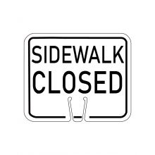 Buy Traffic Cone Sign - SIDEWALK CLOSED on sale online