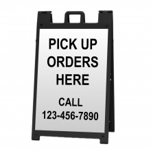 Deluxe Sign Frame - Pick Up Orders Here