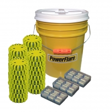 PowerFlare 36 Pack Bucket Bundle