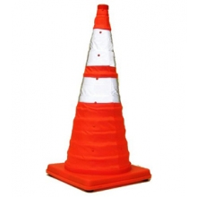 """28"""" Reflective, Collapsible Cone without Light"""